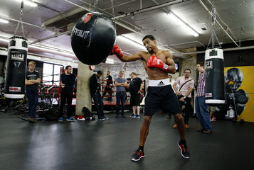 James DeGale & Andre Dirrell Media Work-Out