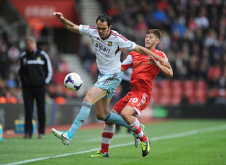 Southampton v West Ham United - Barclays Premier League
