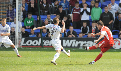 Tranmere Rovers v Swindon Town npower Football League One