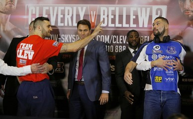 Tony Bellew & Nathan Cleverly Head-to-Head Press Conference