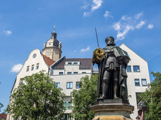 Hanfried in Jena auf dem Markt