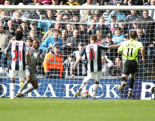 West Bromwich Albion v Wigan Athletic Barclays Premier League