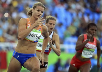 2016 Rio Olympics - Athletics - Preliminary - Women's 200m Round 1