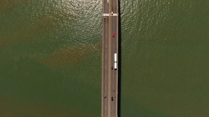 Top View of Main Bridge in Espirito Santo, Brazil