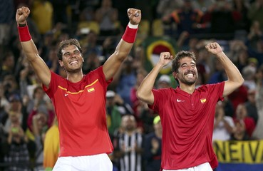 Tennis - Final - Men's Doubles Gold Medal Match