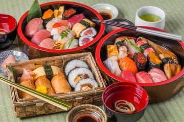 江戸前寿司 Real sushi of Tokyo Style