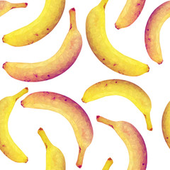 Seamless pattern with bananas