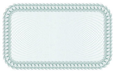 Guilloche Background for certificate, banknote, voucher, money design, currency note check ticket