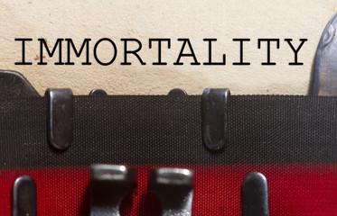 Immortality Wall mural