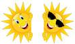 Lustige Sonnen