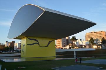 Museu Oscar Niemeyer em Curitiba PR