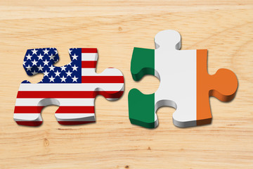 Relationship between the USA and Ireland