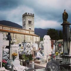Alter mediterraner Friedhof