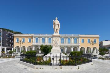 Solomou square at Zakynthos island