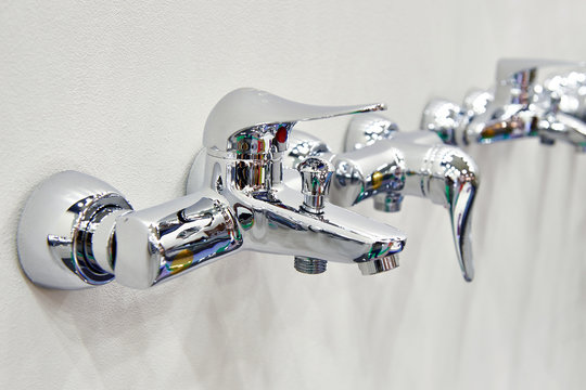 Bathroom faucets taps in store