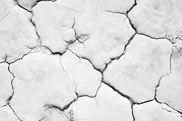 Crack soil texture background