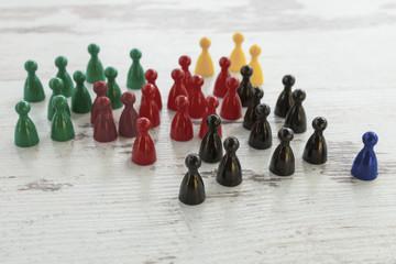 Bundestagswahl, Kegel, Gruppierung