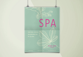 Spa Poster Layout
