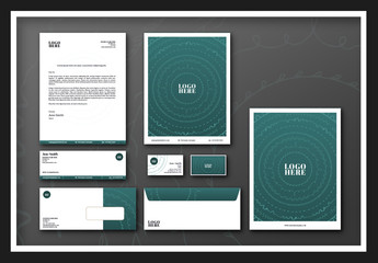 Concentric Circles Stationary Set
