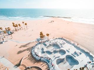 Skatepark and Ocean