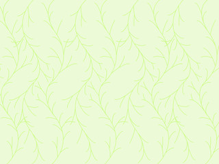Leaves pattern on background