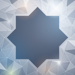 Islamic vector abstract background design