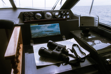 Yacht trip on the Japanese sea
