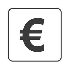 Euro Symbol - Zahlungsmittel - Simple App Icon