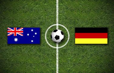 Begegnung Australien Deutschland