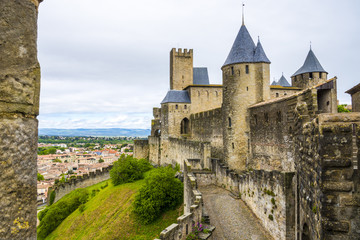歴史的城塞都市カルカソンヌの画像 p1_1