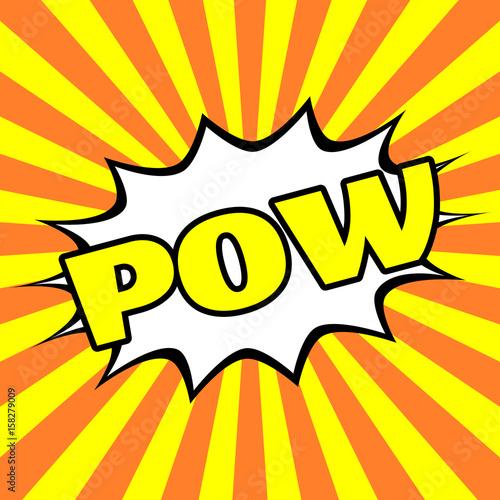 quotpop art powquot stock image and royaltyfree vector files