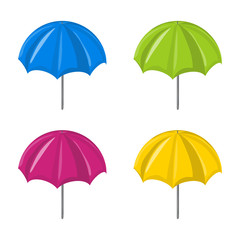 Umbrella vector set  symbol icon design.