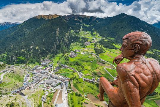 Observation deck Roc Del Quer, Andorra
