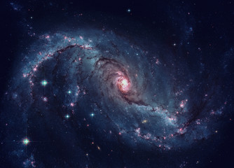Barred spiral galaxy located in the constellation Dorado.