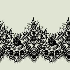 Wzór koronki wstążki