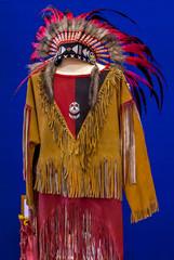 Vestito indiano d'America