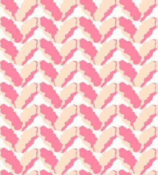 Seamless pink marl fluffy pattern, melange downy knitting texture