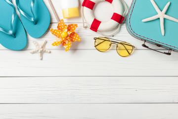 Summer vacation beach accessories