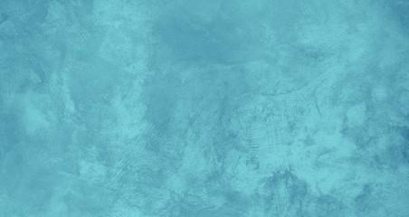 Beautiful Turquoise Grunge Stylized Background Banner