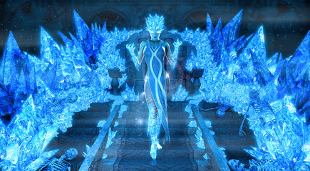Magical ice queen