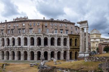 Teatro Marcello (Theatre of Marcellus) ruins - Rome, Italy