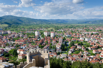 Overview of new residential district,Ohrid, Macedonia (FYROM)