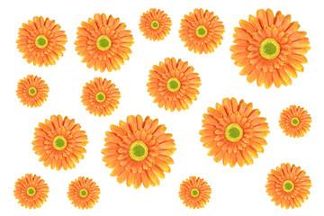 Yellow Daisy Flowers made of fabric
