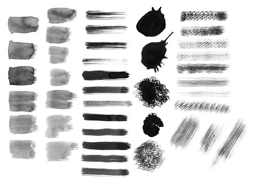 Different strokes brushes. Templates for the designer-2