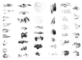 Different strokes brushes. Templates for the designer-8