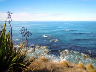 Idyllic Peninsula Walkway in Kaikoura in New Zealand