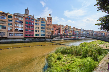 Girona is a city in Spain's northeastern Catalonia region.