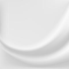 White sillk background