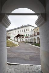 Old Monastery Chambers in Zvenigorod. russia