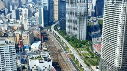 Wall Mural - 東京の風景 タイムラプス